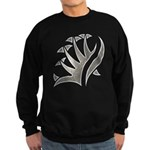 Tribal Frond Sweatshirt (dark)