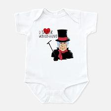 I Love Christmas Infant Creeper