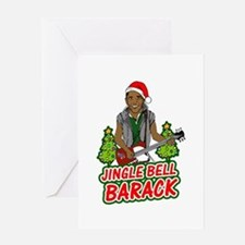 Barack and Roll Funny Obama S Greeting Card