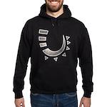 Tribal Hook Hoodie (dark)
