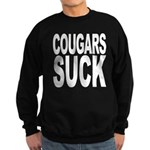 Cougars Suck Sweatshirt (dark)