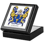 Couceiro Family Crest Keepsake Box