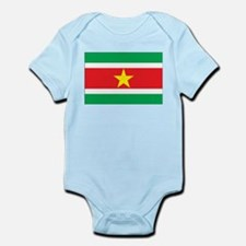 Suriname Flag Infant Creeper