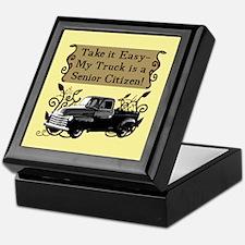 Senior Citizen Truck Keepsake Box