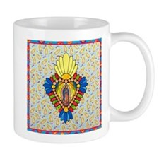 Stained Glass Virgin Mug