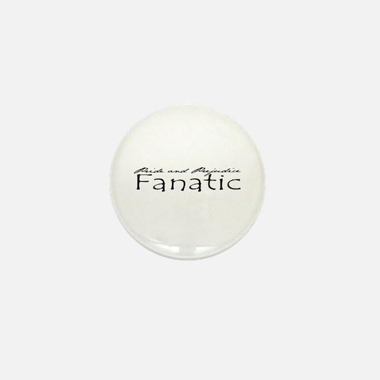 Pride & Prejudice Fanatic Mini Button