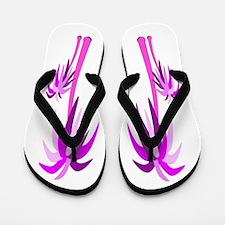 Palm Trees - Pinks Flip Flops