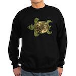 Garden Turtle Sweatshirt (dark)