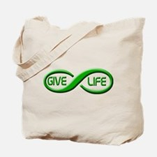 Give Life Tote Bag