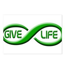 Give Life Postcards (Package of 8)