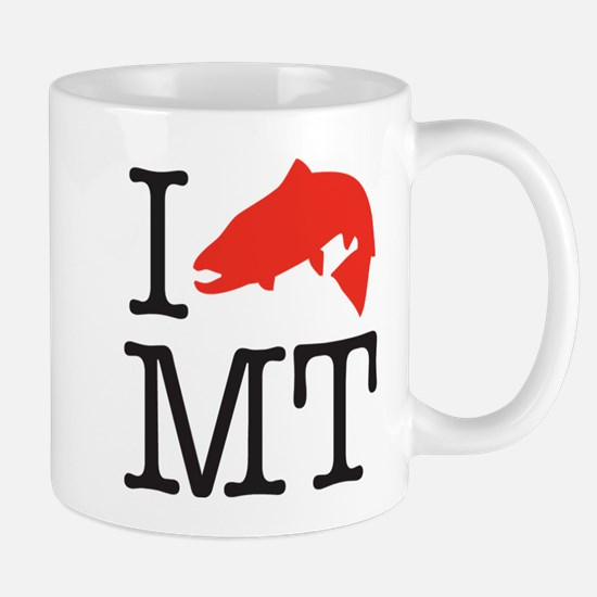 I fish MTcafe 2x2 Mugs