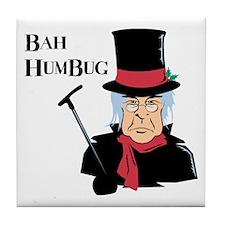 Bah Humbug Tile Coaster