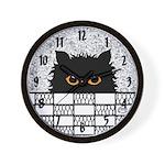 EDDIE PEEKING wall clock