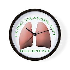 Lung Transplant Recipient Wall Clock