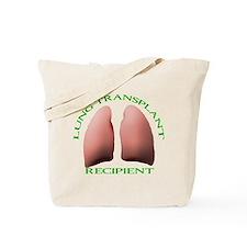 Lung Transplant Recipient Tote Bag
