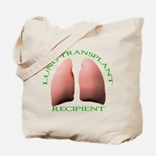 Lung Transplant Recipient Tote Bag