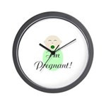 I'm Pregnant! Surprise Pregnancy Wall Clock