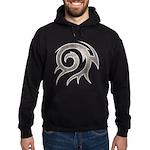 Tribal Twirl Hoodie (dark)