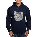 Calico Cat Hoodie (dark)