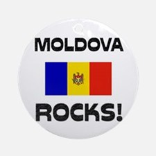 Moldova Rocks! Ornament (Round)