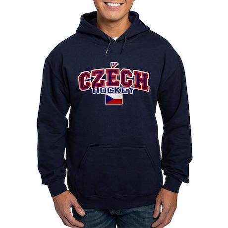 CZ Czech/Ceská Hockey Hoodie (dark)