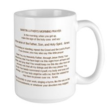 Dr. Luther's Morning Prayer Mug