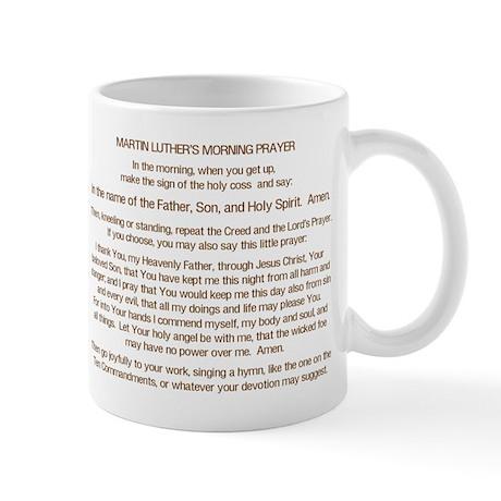 Dr. Luther's Morning Prayer Mug