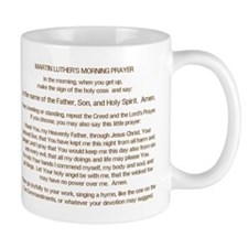 Dr. Luther's Morning Prayer Small Mug