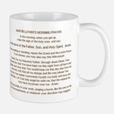 Dr. Luther's Morning Prayer Small Small Mug
