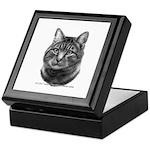 Tiger Cat Keepsake Box