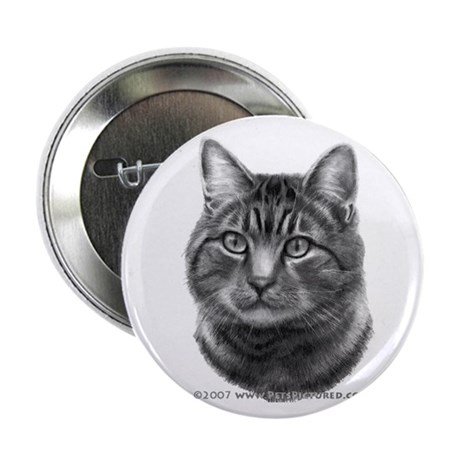 "Tiger Cat 2.25"" Button (100 pack)"