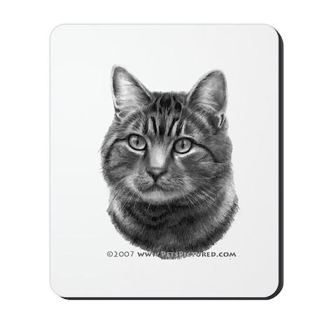 Tiger Cat Mousepad