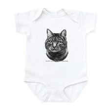 Tiger Cat Infant Bodysuit