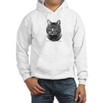 Tiger Cat Hooded Sweatshirt