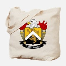 Tobey Family Crest Tote Bag