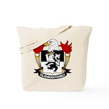 Tilghman Family Crest Tote Bag
