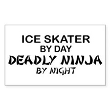 Ice Skater Deadly Ninja by Night Decal