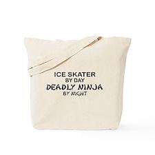Ice Skater Deadly Ninja by Night Tote Bag