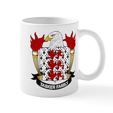 Tasker Family Crest Small Mugs