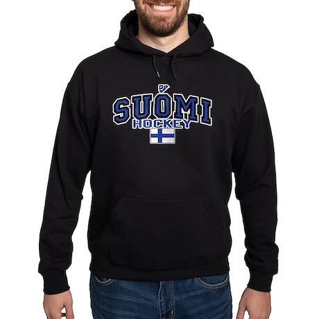 Finland(Suomi) Hockey Hoodie (dark)