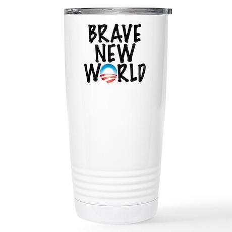 Brave New World Stainless Steel Travel Mug
