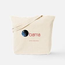 Obama Earth Tote Bag