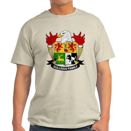 Sullivan Family Crest Light T-Shirt