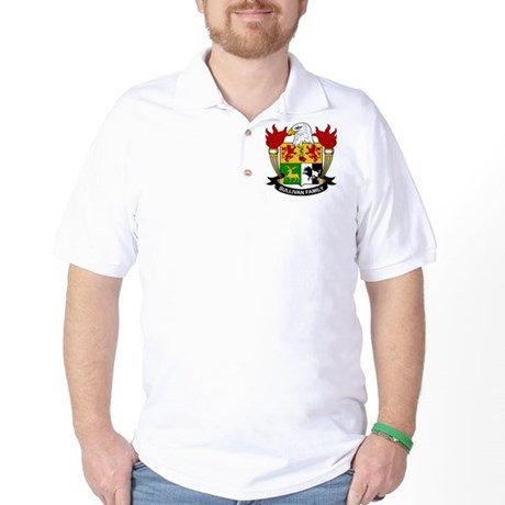 Sullivan Family Crest Golf Shirt
