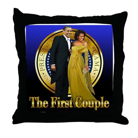 Inaugural Ball Throw Pillow