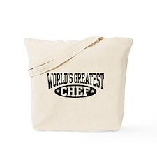 World's Greatest Chef Tote Bag