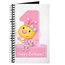 Cute Bug Girl's 1st Birthday Journal