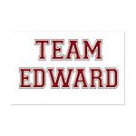 Team Edward Mini Poster Print