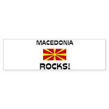 Macedonia Rocks! Bumper Bumper Sticker