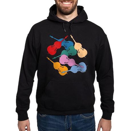 Colorful Double Basses - Hoodie (dark)